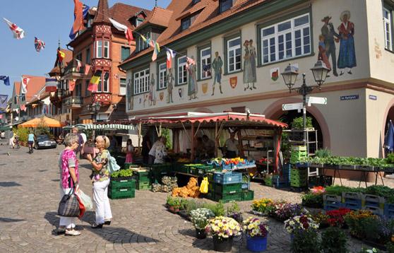 Markt in Haslach