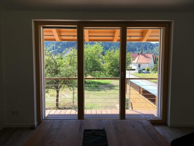 Blick von Küche nach Draußen