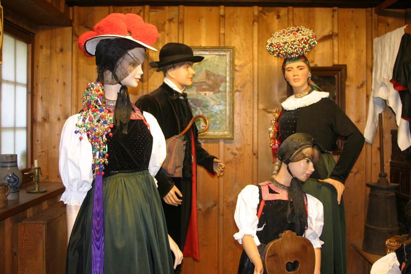 Trachtenmuseum, Gutacher Tracht