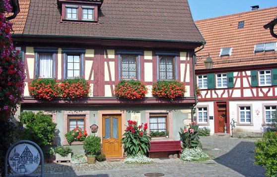 Fachwerkhäuser Haslach